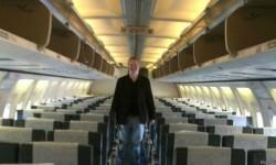 El sorprendente testimonio de un hombre que fue el único pasajero a bordo de un 737 (y lo dejaron en clase Turista)