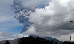 El volcán Cotopaxi.