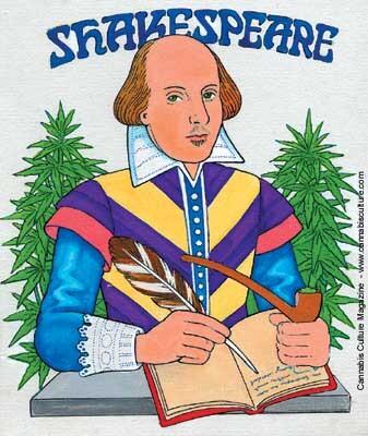 Encuentran restos de cannabis en pipas halladas en el jardín de William Shakespeare
