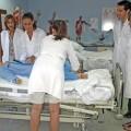 Enfermeros y enfermeras en Valencia realizando prácticas.