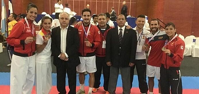 España, primera en el VI Campeonato Iberoamericano de Karate