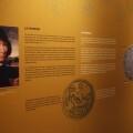 Exposición de monedas.