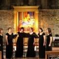 Formación vocal femenina DeMúsica Ensemble.