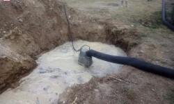 Imagen canal recogida aguas pluviales y electrobomba gran caudal del CPBC instalados en recinto-1