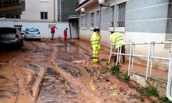 Imelsa refuerza la presencia de las brigadas en Ademuz tras las inundaciones del sábado (1)