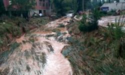 Imelsa refuerza la presencia de las brigadas en Ademuz tras las inundaciones del sábado (2)