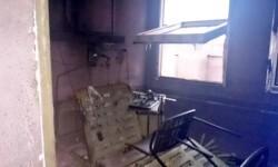 Incendio en una planta del Hospital Mini Fe de Sagunto (1)