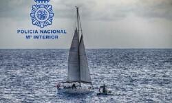 Interceptan un velero rumbo a Galicia cargado con 600 kilos de cocaína