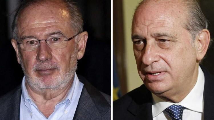 Interior confirma la reunión entre Fernández Díaz y Rodrigo Rato mientras que PSOE pide explicaciones