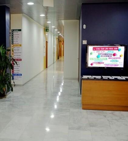 Interior del Ayuntamiento de Aldaia.