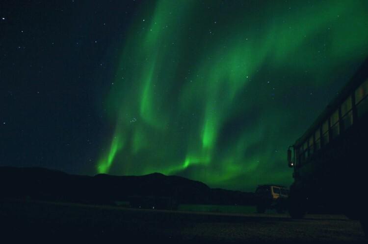 Island Tours-Groenlandia. Aurora boreal