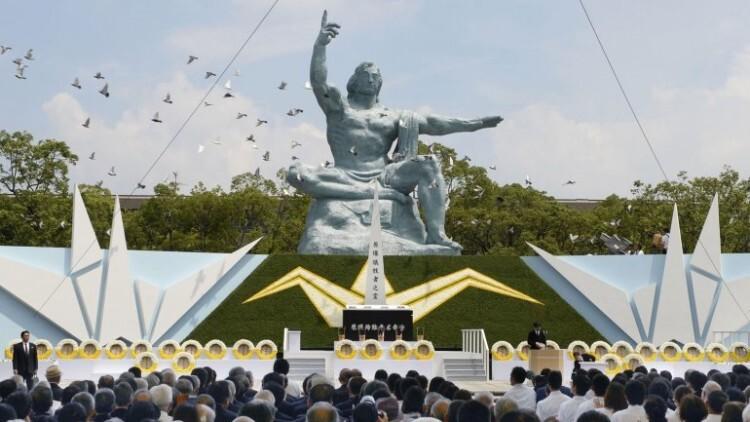 Japón conmemora los 70 años de la segunda bomba atómica (4)