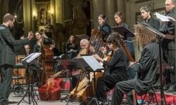 La Grande Chapelle en uno de sus conciertos en España.