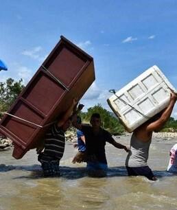 La frontera colombo-venezolana lleva siete días cerrada.