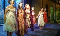 Las Reinas Magas al final de espectáculo. (Foto-J.Entraigües-VLCNoticias)
