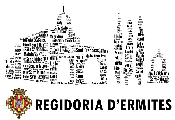 Logo  de la Regidoria Ermites