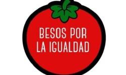 Logotipo de la campaña 'Besos por la igualdad'