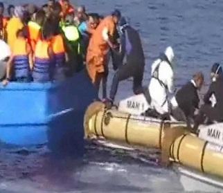 Los inmigrantes habrían pagado entre entre 1.080 y 1.620 euros a una organización de trata de personas.
