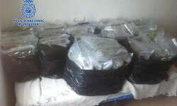 Más de 80 kilos de marihuana y diez detenidos en una operación contra el tráfico de estupefacientes