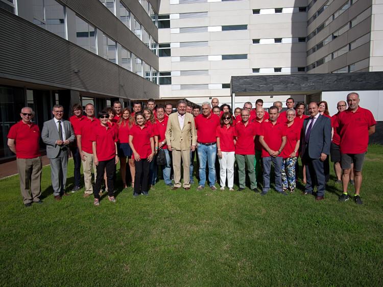 """Méndez de Vigo visita a los integrantes de la delegación española que participará en las Olimpiadas de FP, """"Worldskills"""""""