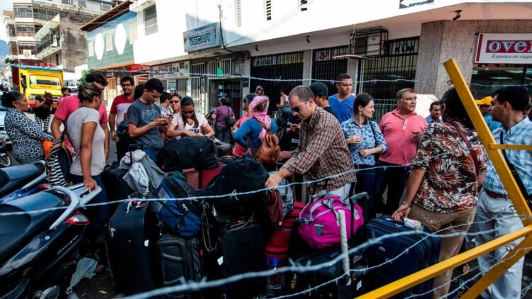 Maduro amplia el cierre fronterizo a otros cuatro municipio