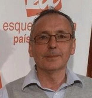Marcos Cabo concejal de  EU.