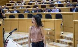 Maribel Mora, senadora de Podemos.
