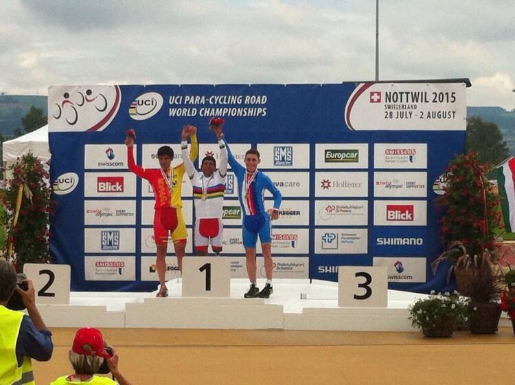 Maurice Eckhard se proclama subcampeón del mundo de ciclismo en carretera (2)
