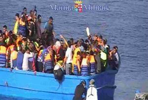 Muchos inmigrantes viajaban en la bodega.