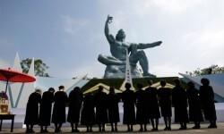 Nagasaki conmemoraba este domingo el ataque nuclear de Estados Unidos  que dio fiin a la Segunda Guerra Mundial.