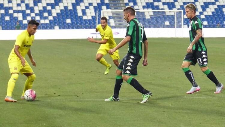 Nahuel marcó ante el Sassuolo y se coloca como el máximo goleador amarillo (Foto Villareal CF)