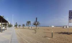 Playa Nord de Gandia.