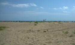 Playa de La Patacona, en Alboraya.
