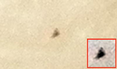 Pyramid-UFO-Flys-Past-Moon-Caught-On-Camera-Aug-20151