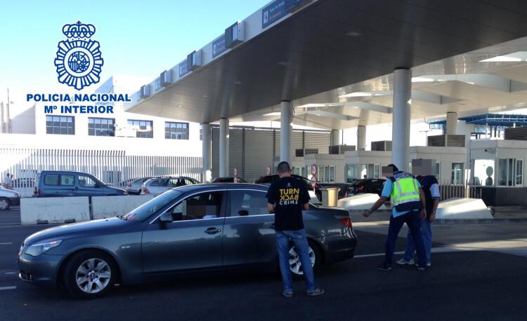 Recuperados 40 automóviles y detenidas 25 personas en un operativo contra el tráfico ilícito de vehículos
