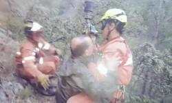 Rescate rural en la zona montañosa de Enguera por el Consorci Provincial de Bombers de Valènci (1)