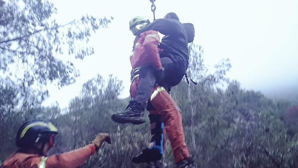 Rescate rural en la zona montañosa de Enguera por el Consorci Provincial de Bombers de Valènci (3)