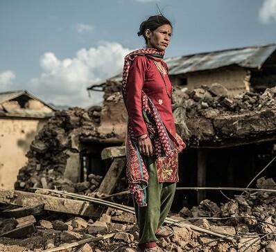 Runator enviará el 100 por cien de las donaciones a OXFAM Intermón, una organización que desde el primer día está ayudando en el lugar del desastre.