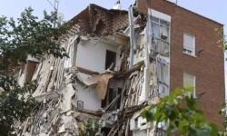 Se derrumba en Madrid un edificio de viviendas que había sido desalojado horas antes