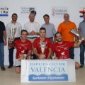 Sergio, Alberto y Roberto coronan la gran final de la Lliga de Raspall 2015