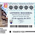 Sorteo de Lotería Nacional 22 sábado de agosto de 2015