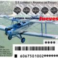 Sorteo de la Lotería Nacional del jueves del 20 de agosto de 2015