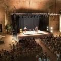 Teatro en el castillo de Peñíscola.
