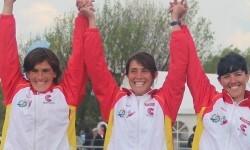 Tres oros para España en la Copa del Mundo de Slalom de Pau