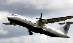 Un avión similar a este fue el que se estrelló con 54 personas a bordo.