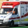 Un vehículo del SAMU.