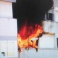 Una imagen de archivo de un incendio en Vinaròs.