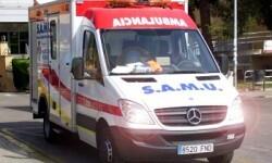 Varios efectivos del Servicio de Ayuda Médica Urgente (Samu) se desplazaron hasta el lugar. (Foto-VLCNoticias)