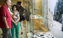 Xavier Rius y Helena Bonet Falcatas, escudos y lanzas (Foto-Abulaila).