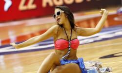 animadoras de baloncesto basket lovers  Selección Española de basket con victoria an (1)